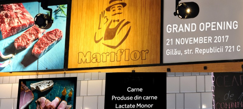 A new Mariflor Store in Gilau